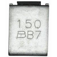 PTC pojistka Bourns MF-SM150/33-2, 1,5 A, 9,5 x 6,71 x 3 mm