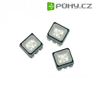 SMD LED Avago Technologies, ASMT-YTB2-0BB02, 20 mA, 2,1 V, 120 °, 745 mcd, RGB