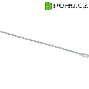 Perličkové stahovací pásky PB Fastener ABV 224, 240 x 3,9 mm, 10 ks, přírodní