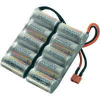Akupack NiMH (modelářství) Conrad energy, 12 V, 2400 mAh, T zásuvka