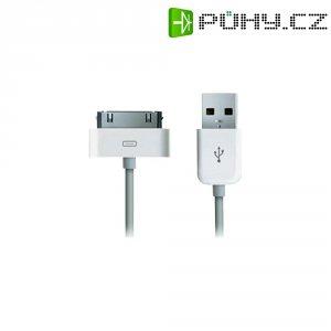 Napájecí/datový kabel Apple pro iPhone/iPod, USB 2.0, 1 m