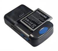 Nabíječka univerzální baterií AA/AAA s možností nabíjení baterií typu Li-Ion, Li-Pol pro mobilní tel