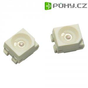 SMD LED PLCC4 Avago Technologies, ASMT-QAB2-FDE0E, 150 mA, 2,7 V, 120 °, jantarová