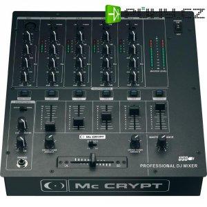 DJ mixážní pult Mc Crypt SA-101U USB