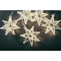 Vánoční osvětlení do okna Konstsmide, 5 LED hvězd