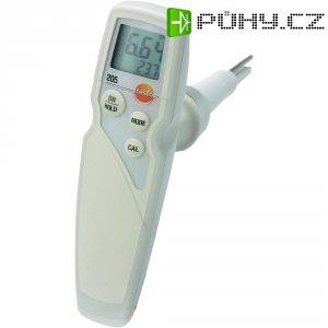 Potravinářský pH metr testo Set 205, 0 - 14 pH