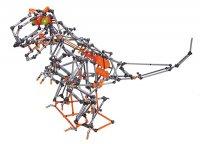 Stavebnice Block intellect 253-1 Dinosaurus