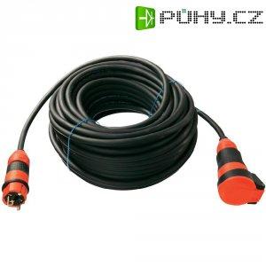 Prodlužovací kabel AS Schwabe, 50 m, 2,5 mm², černá