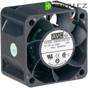 PC větrák s krytem AVC F4028 (š x v x h) 40 x 40 x 28 mm