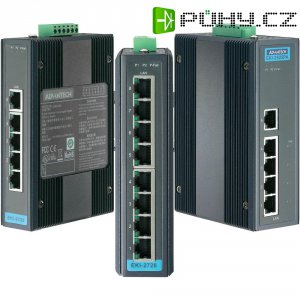 Ethernetový switch Gb Advantech EKI-2728-AE, 8port., 12 - 48 V/DC