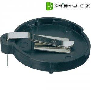 Držák na knoflíkovou baterii CR2430/CR2450 KZH2, s pájecími kontakty