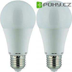 LED žárovka E27 9,5 W=60 W, teplá bílá, 2 ks