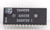 TDA4555 - procesor PAL/SECAM/NTSC, DIP28