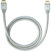 Oehlbach High Speed HDMI kabel s Ethernetem, White Magic, 2,2 m, bílý