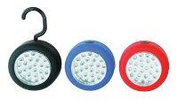 Svítilna montážní LED lampa (24 x LED) modrá WL70