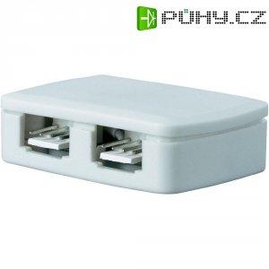 Rozváděcí krabička k LED pásům Paulmann YourLED, 4násobná, bílá (70203)