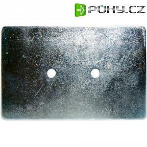 Kovová podložka, 150 x 100 x 3 mm