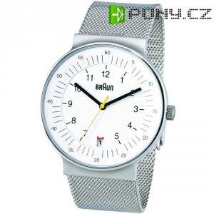Ručičkové náramkové hodinky Braun Quartz, pásek z nerezové oceli