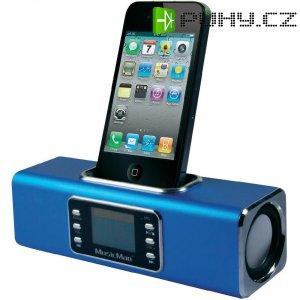 Bezdrátová sound stanice Technaxx MusicMan R BT-X1 pro iPod/iPhone, modrá