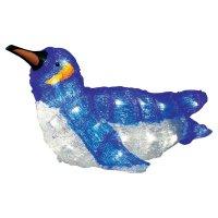 Akrylátový LED tučňák Konstsmide, ležící