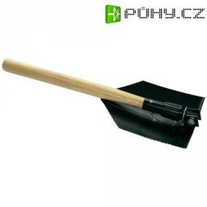 Lopata s dřevěnou rukojetí, 13600, skládací