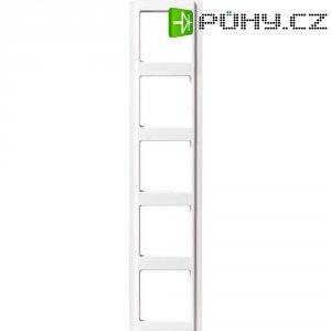 Krycí rámeček Jung, A585WW, pětinásoný, bílá
