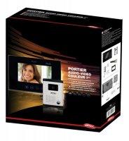 """OPTEX 990272 7"""" Barevný dveřní audio/videotelefon - 4 žilový"""