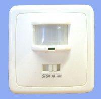 Pohybový spínač osvětlení s PIR a zvukovou detekcí