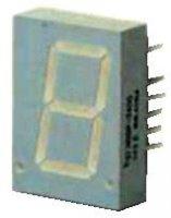HDSP-5501 zobrazovač 7seg. LED červený spol. Anoda