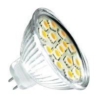 LED žárovka Mueller GU5.3, 3 W, teplá bílá, 110°