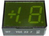 VQE22E zobrazovač +1.8., zelený, RFT