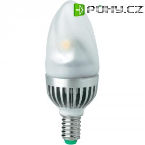 LED žárovka Megaman® E14, 5 W, teplá bílá, svíčka matná