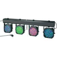 Sada 4 LED reflektorů na liště Cameo MultiPAR, Multicolor