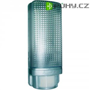 Venkovní svítidlo s PIR senzorem ES88A, E27, stříbrná/šedá
