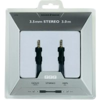 Připojovací kabel, Sound & Image, jack zástr. 3.5 mm/jack zástr. 3.5 mm, 3 m