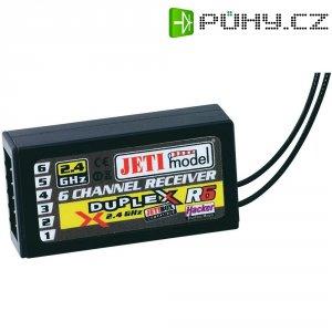 Přijímač Jeti R6 Duplex, 2,4 GHz, 6 kanálů, JR