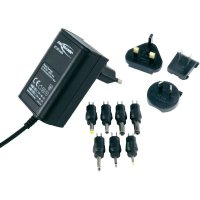 Síťový adaptér s redukcemi a zástrčkami Ansmann APS 600, 3 - 12 V/DC, 7,2 W
