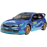 RC model EP Tamiya Subaru Impreza WRC 2008, TT-01 E, 1:10, 4WD, stavebnice