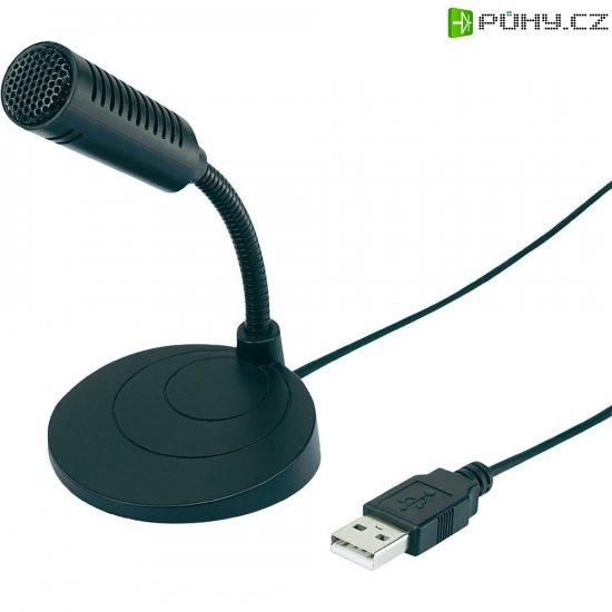 Stolní USB mikrofon Mc Crypt UM-80 - Kliknutím na obrázek zavřete