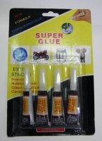 Vteřinové lepidlo Super Glue 4x3g