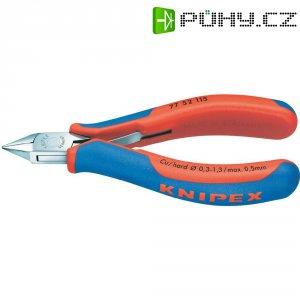 Stranové štípací kleště Knipex 77 52 115, 115 mm, špičatá hlava s fazetou