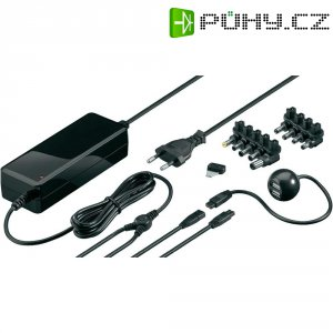 Síťový adaptér pro notebooky Goobay, 12 - 24 VDC, 72 W