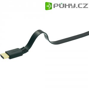 SpeaKa Professional High Speed HDMI plochý kabel s ethernetem, 4 m