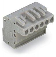 Zásuvkový konektor na kabel WAGO 232-122/026-000, 112.40 mm, pólů 22, rozteč 5 mm, 10 ks