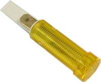 Kontrolka 230V ISZ s doutnavkou, žlutá