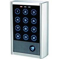 Vodotěsná dotyková kódová klávesnice, 12 - 24 V/AC/DC, IP65