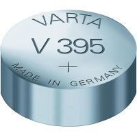 Knoflíková baterie 395, Varta SR57, na bázi oxidu stříbra, 00395101401