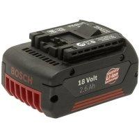 Akumulátor Bosch, Li-Ion, 18 V, 2,6 Ah, 2607336092