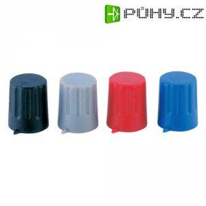 Otočný knoflík s ukazatelem Strapubox POMELLO 12/6 MM ROSSO, 12/6 mm, 6 mm, červená