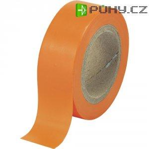 Izolační páska SW12-013OR, 93014c598, 19 mm x 10 m, oranžová